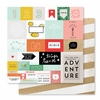 Studio Calico - Seven Paper - Clara Collection - 12 x 12 Double Sided Paper - Paper 002