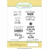 Taylored Expressions - Cling Stamp - Big Bold Summer
