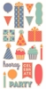 We R Memory Keepers - Cakes and Candles Collection - Wood Stickers