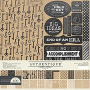 Authentique Accomplished 12x12 Collection Kit