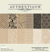 Authentique Accomplished 12x12 Paper Pad