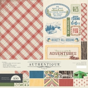 Authentique Adventure 12x12 Kit