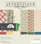 Authentique Adventure 6x6 Bundle