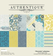 Authentique Favorite 12x12 Paper Pad