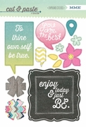 """Be"" Chipboard Stickers"