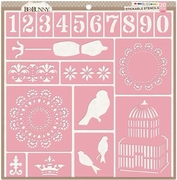 Bliss Stickable Stencils