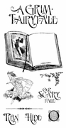 Cling Stamp G45 Grim Fairytale 1