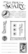 Cling Stamp G45 Grim Fairytale 3