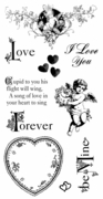 Cling Stamp G45 Sweet Sentiment 2