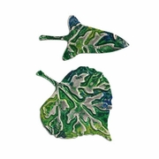 Dancing Leaves Sizzix Thinlits Dies with embossing folders