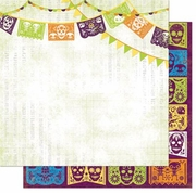 Fright Delight Party 12x12 Paper