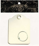 Graphic 45 Artist Trading Tags�Ivory