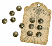 Graphic 45 - Metal Button Staples