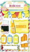 BoBunny - Lemonade Stand Layered Chipboard