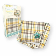 Messenger Bag DIY Kit � Yellow Plaid