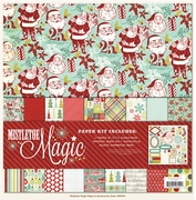 Mistletoe Magic 12x12 Paper and Accessories Pack