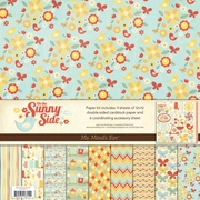 On the Sunny Side 12x12 Paper & Accessories Kit