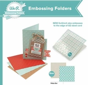 Lifestyle Crafts QuicKutz Embossing Folders