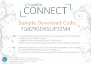 Silhouette Connect download card - Plugin for Adobe Illustrator and CorelDRAW