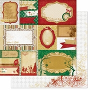 Silver and Gold & Yuletide Paper *