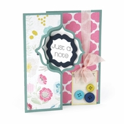 Sizzix Framelits Die Set 10PK - Card, Regal Flip-its