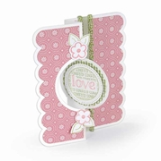Sizzix Framelits Dies - Card, Circle Flip-its #2