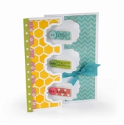 Sizzix Framelits Dies - Card, Triple Fancy Frame Flip-its