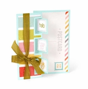 Sizzix� Framelits� Die Set 10PK - Card, Triple Square Flip-its by Stephanie Barnard�
