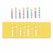 Sizzix Movers & Shapers Magnetic Die - Candles