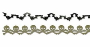 Sizzix Sizzlits Decorative Strip Die - Bats & Crossbones Garland
