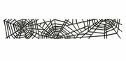 Sizzix Sizzlits Decorative Strip Die - Cobwebs