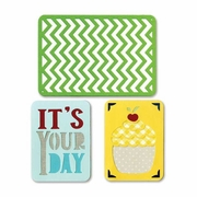 Sizzix� Thinlits� 3 pack Birthday #2 Die Set
