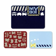 Sizzix� Thinlits� 3 pack My Boy Die Set