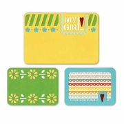 Sizzix� Thinlits� 3 pack My Girl Die Set
