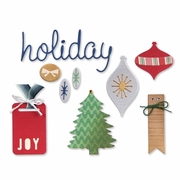 Sizzix� Thinlits Die Set - Icons, Ornaments & Tags