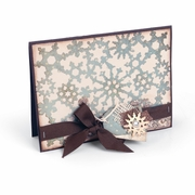 Sizzix� Thinlits Die - Snowflakes Card Front