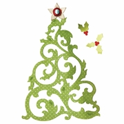 Sizzix Thinlits Dies - Christmas Tree