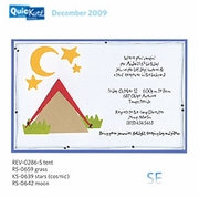 Tent - 4x4 inch QuicKutz die<BR><b>RETIRED</B>