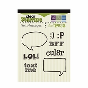 Text Messages Clear Stamp