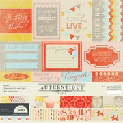 Authentique Wishes 12x12 Collection Kit
