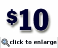 $10 Gift Certificate (sent electronically)