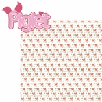 100 Acre: Piglet 2 Piece Laser Die Cut Kit