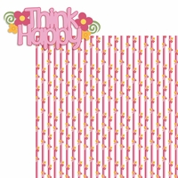 100 Acre: Think Happy 2 Piece Laser Die Cut Kit