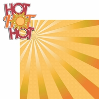 100 Degrees: Hot Hot Hot 2 Piece Laser Die Cut Kit