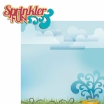 100 Degrees: Sprinkler Fun 2 Piece Laser Die Cut Kit