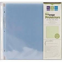 12 x 12 Ring Page Protectors (25 Pack)