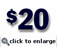 $20 Gift Certificate (sent electronically)