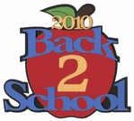 2010 Back To School Laser Die Cut