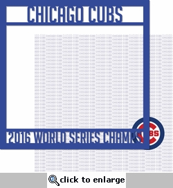 2016 Champs Overlay Quickpage Laser Die Cut