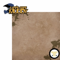 4 wheeling: Get Muddy 2 Piece Laser Die Cut Kit